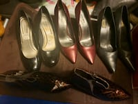 4 pairs of stilettos.  all size 9 Portland, 97236