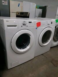 LG FRONT LOAD WASHER AND DRYER SET WORKING PERFECTLY Baltimore, 21201