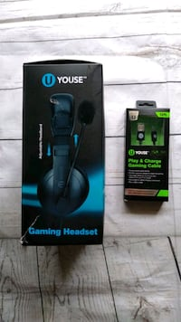 New Gaming Headset and Play & Charge Frederick