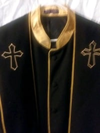 Clergy robes with matching stole. Cary, 27513
