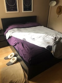 IKEA Malm Queen Size Lift Storage Bed
