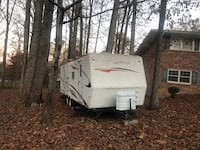 white and gray RV trailer Peachtree City, 30269