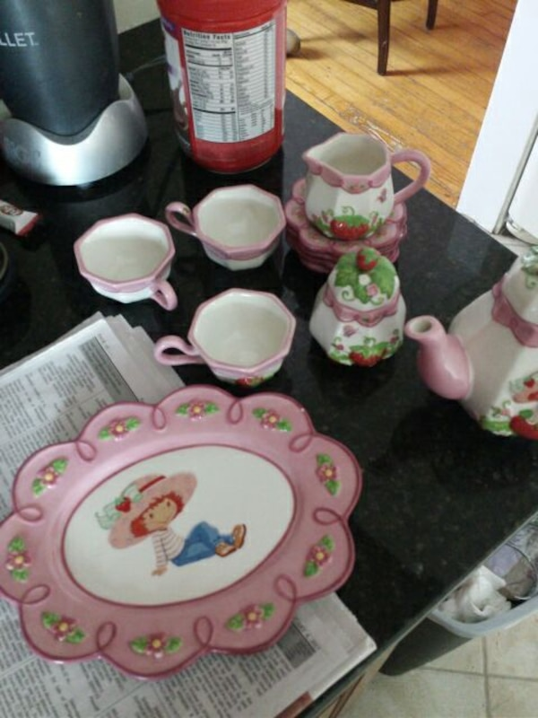 Used Little Girl Glass Tea Set For Sale In New Jersey Letgo