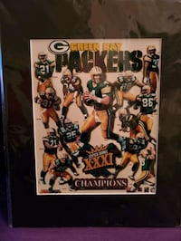 Green bay packers Super Bowl Print  Baltimore, 21206