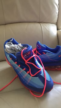 Used Almax Blue And Teal Basketball Shoes For Sale In New York Letgo