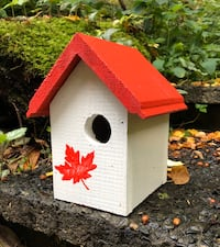 Maple Leaf birdhouse  North Vancouver, V7J 1L8