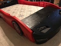 Red and black twin bed North Las Vegas, 89030