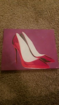 pair of pink leather pointed-toe pumps Winchester, 22601
