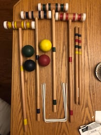EAST POINT 4 PLAYER CROQUET SET  North Dumfries, N0B 1E0