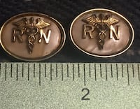 RN men's cuff links. Made by flex-let quality U.S.A. Kingston, 02364