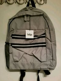 Grey Backpack  543 km