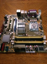 Asus P5K-VM Motherboard with Intel Core Duo!!