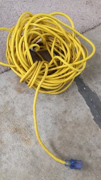 75.00 foot extension cord , like new