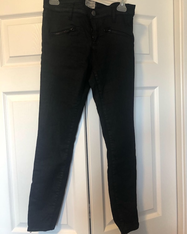 Current Elliot Black Jeans sz 28 3