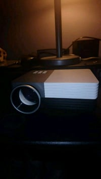 """Video projector, up to 120"""" screen"""