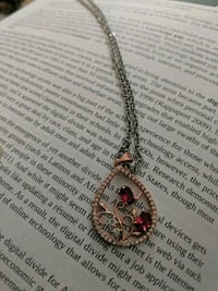 silver and pink pendant necklace Bensalem, 19020