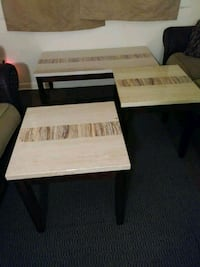 white and brown wooden table 358 mi