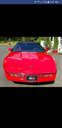Chevrolet - Corvette Convertible - 1987 - Show car