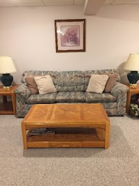 Queen Sleeper Sofa with exreas WOBURN