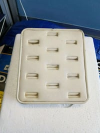 white and gray power strip
