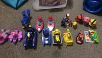 Paw patrollers-big w/ vehicle-$10 each small one piece-$5 each Calgary, T3J 3A1