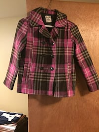 Girls pea coat old navy size 11