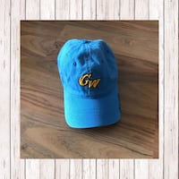 blue and black fitted cap Rockville, 20852
