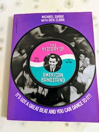 The history of American bandstand large soft cover
