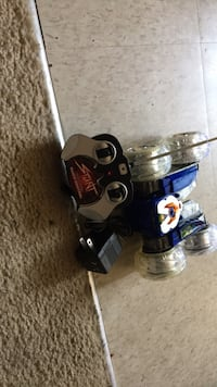 blue and white Stunt R/C toy with controller Ottawa, K1B 3J7