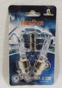 LOT OF 2 (1 PACKAGE OF 2 AS SHOWN) LED LIGHTS FOR BICYCLE NEW Oshawa