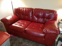 Faux leather loveseat Topeka, 66604