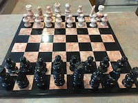 Onyx and marble chess set.   Cambridge, N3C 4C4