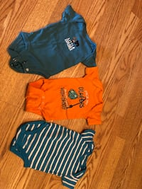 Baby' s three assorted clothes East Lansing, 48823