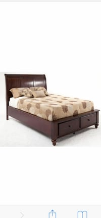 Bobs Chatham Queen Sleigh Bed Clarksburg, 20871
