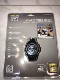 Audio & video recording watch Vaughan, L4L 9R3