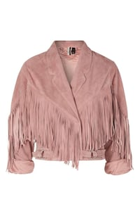 BNWT Suede Leather Jacket