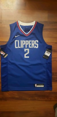 Clippers Kawhi Leonard basketball jersey - authentic new with tags