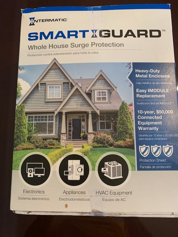 INTERMATIC Smart Guard IG2240-IMSK WHOLE HOME Surge Protector 60bac638-913b-4290-8464-d510d9722809