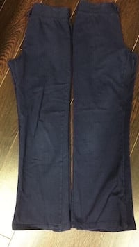Girls track pants navy size large or 10/12 youth Vaughan, L4L 6A9