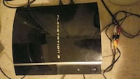PS3 fat with games Markham, L3R 4M9