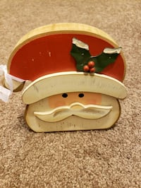 Christmas wooden table decor  2277 mi