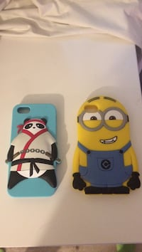 Despicable Me minion silicone iPhone case