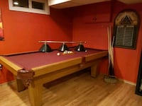 Pool table with accessories London, N6E 1E7