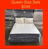 Queen Size Mattress Sets (New) Same Day Delivery & Financing Available Atlanta, 30318