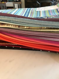 Lot of 48 high end square fabric pieces Toronto, M8Z 4Z5