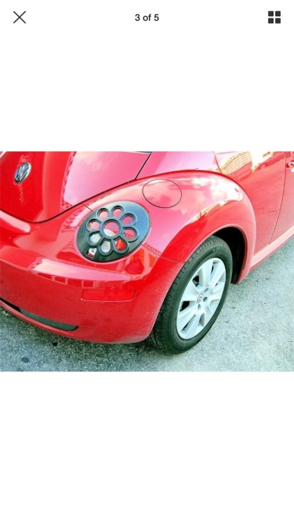 Flower Tail Lights For Vw Beetle