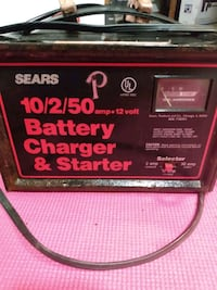 Sears battery charger and starter