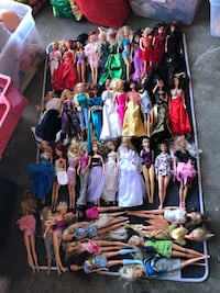 Barbie doll lot Milpitas, 95035