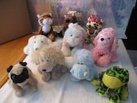 Webkinz animals (10) and accessories Norristown