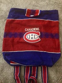 Montreal Canadiens back pack  Montréal, H4N 0B6
